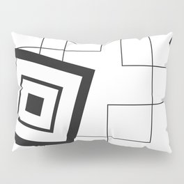 """""""From Big to Small"""" abstract composition Pillow Sham"""