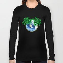 Tropical Surfer Long Sleeve T-shirt