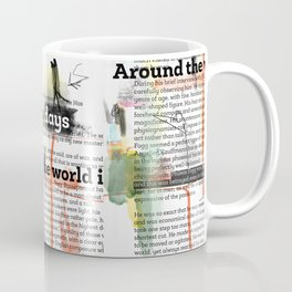 Around the world in eighty days - chapter 2 - text offered are in public domain  Coffee Mug