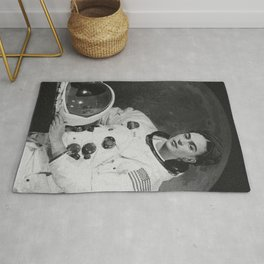 Frida in Space Rug