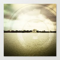 DC is Different  Canvas Print