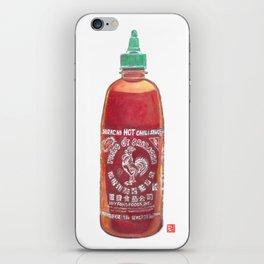 Sriracha Hot Sauce iPhone Skin