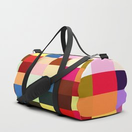 checkered times Duffle Bag