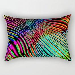 Vague Colorée Rectangular Pillow
