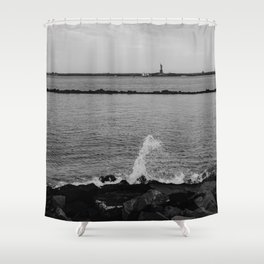 Statue of Liberty III Shower Curtain