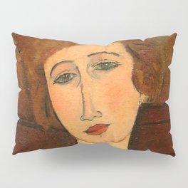 "Amedeo Modigliani ""Portrait of a woman"" Pillow Sham"