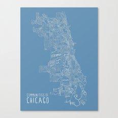 Communities of Chicago Canvas Print