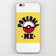 pokeball me iPhone & iPod Skin