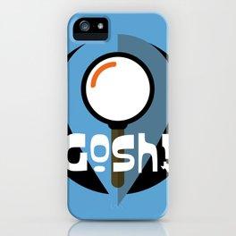 GOSH logo (TX) iPhone Case