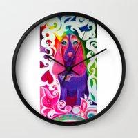 downton abbey Wall Clocks featuring Abbey by Ashley by Ashley