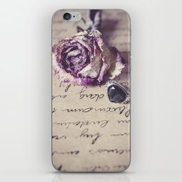 The way to your heart iPhone Skin
