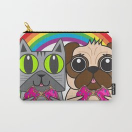 Kitty and Puggy Carry-All Pouch