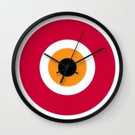 evil eye, red, Wall Clock