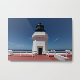 Light House Top Metal Print