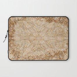 Petrified Wood Kaleidoscope Laptop Sleeve