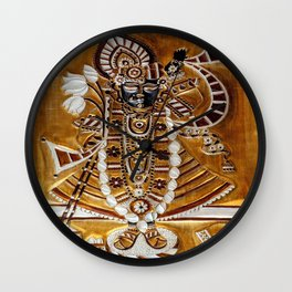 Vishnu Wall Clock