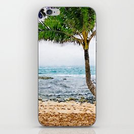 Maui Palm Tree iPhone Skin