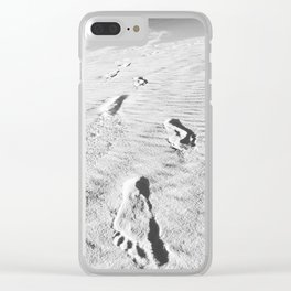 The Anthropology of Sand Clear iPhone Case