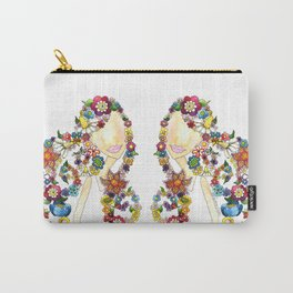 Flower Girl One Carry-All Pouch