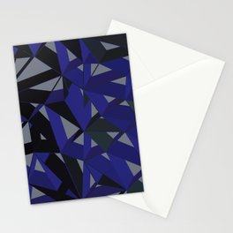 3D Futuristic GEO VII Stationery Cards