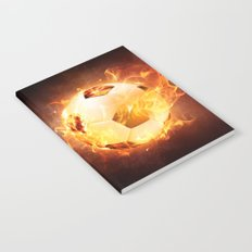 Football, Soccer Ball Notebook