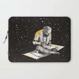 Allen Ginsberg in the sky Laptop Sleeve