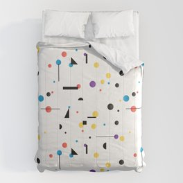 Abstract seamless pattern like Kandinsky Comforters