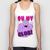 lumpy space princess Tank Tops featuring Lumpy Space Princess by WaXaVeJu