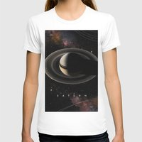 saturn T-shirts featuring SATURN by Alexander Pohl