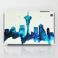 seattle iPad Cases featuring Seattle  by Talula Christian