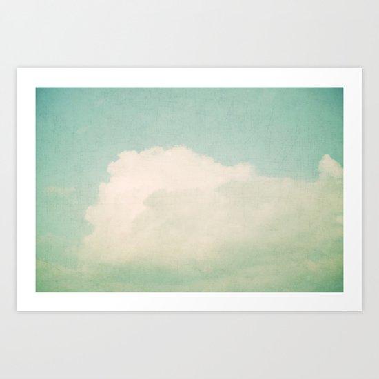 one dreamy day Art Print