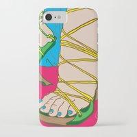 feet iPhone & iPod Cases featuring Feet by Mauro Squiz Daviddi