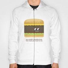 Cheesy Burger Hoody