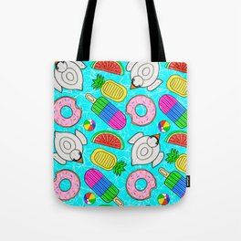 Pool Float Party Tote Bag