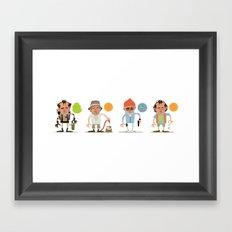 Murrays Framed Art Print