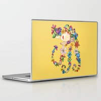 sleeping beauty Laptop & iPad Skins featuring Sleeping Beauty by Shelley Ylst Art
