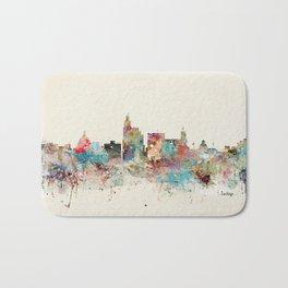 jackson mississippi skyline Bath Mat