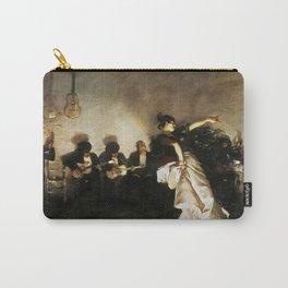El Jaleo by John Singer Sargent - Vintage Fine Art Oil Painting Carry-All Pouch