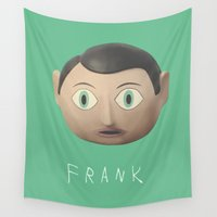 frank Wall Tapestries featuring Frank by Earl of Grey