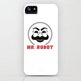 MR Robot Fsociety iPhone Case