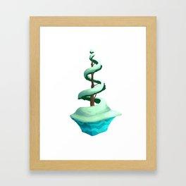 Spiral Pines Framed Art Print