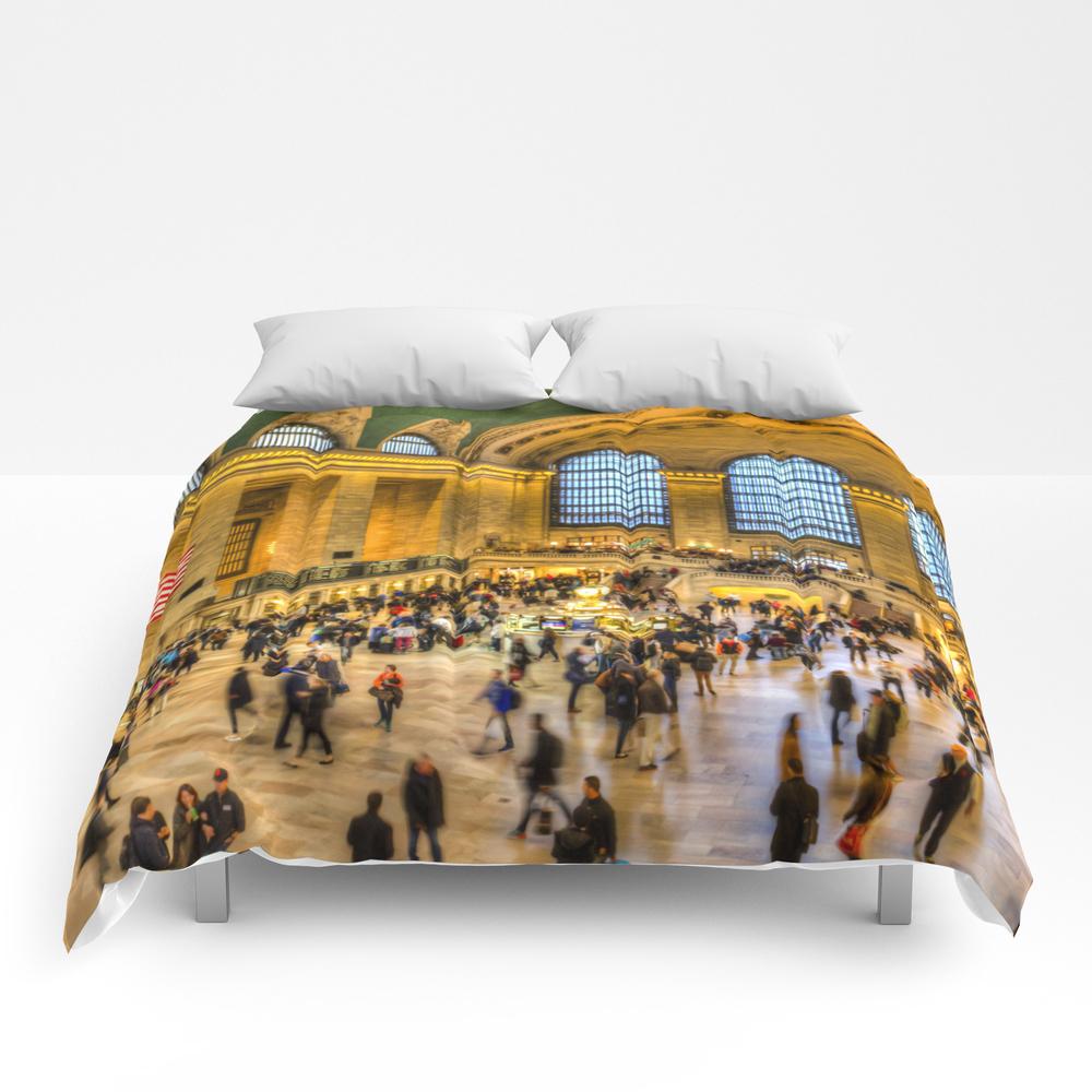 Grand Central Station New York Comforter by Davidpyatt CMF8584008