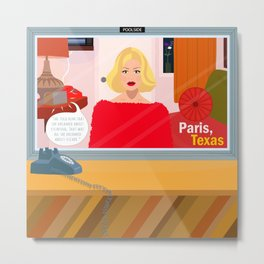 Paris, Texas Metal Print