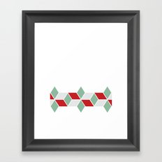 Winter Sweater Framed Art Print