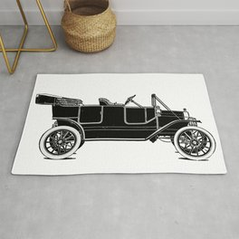 Old car Rug