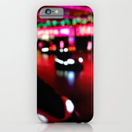 Bumper cars iPhone Case