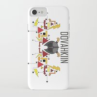 skyrim iPhone & iPod Cases featuring Skyrim: The Dovahkiin - RED (Skyrim) by E_Nicholson