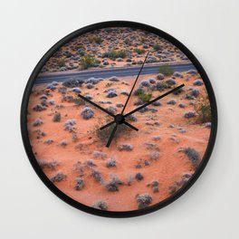 Valley of Fire, NV Wall Clock