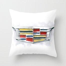 Cadillac #1 Throw Pillow