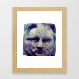harvey keitel Framed Art Print